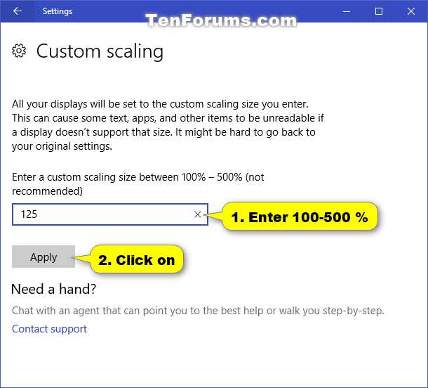 Name:  Custom_DPI_scaling_in_Settings-2.png Views: 210032 Size:  36.9 KB