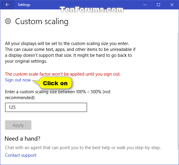 Change DPI Scaling Level for Displays in Windows 10-custom_dpi_scaling_in_settings-3.png