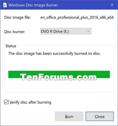 Windows 10 write iso to cd | How to Burn a Windows 10 ISO