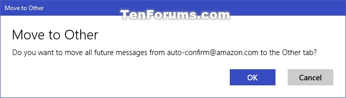 Move Outlook Email to Focused or Other Inbox in Windows 10 Mail app-confirm2.jpg