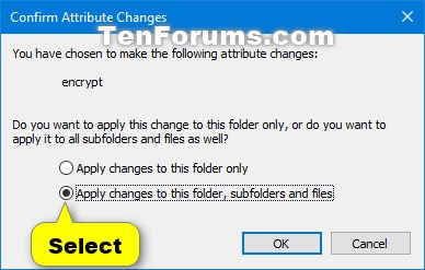 Encrypt Files and Folders with EFS in Windows 10-efs_folder-4.jpg