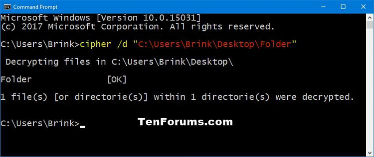 Decrypt Files and Folders with EFS in Windows 10-efs_folder-command.jpg