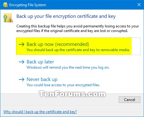 Backup Encrypting File System Certificate and Key in Windows 10-notification_backup_efs_certificate-2.jpg