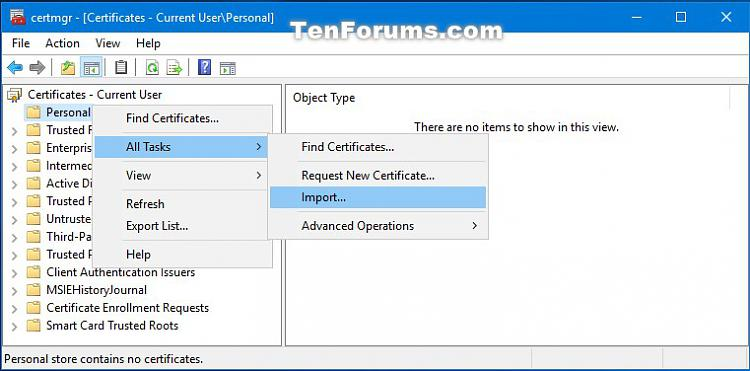 Import Encrypting File System Certificate and Key in Windows 10-certmgr_import_efs_certificate_and_key-1.jpg