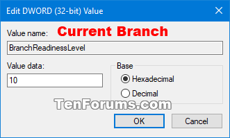 Windows Update - Defer Feature and Quality Updates in Windows 10-branchreadinesslevel-2.png