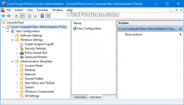 Click image for larger version.  Name:Non-Administrators_Local_Group_Policy.png Views:419 Size:39.8 KB ID:126420