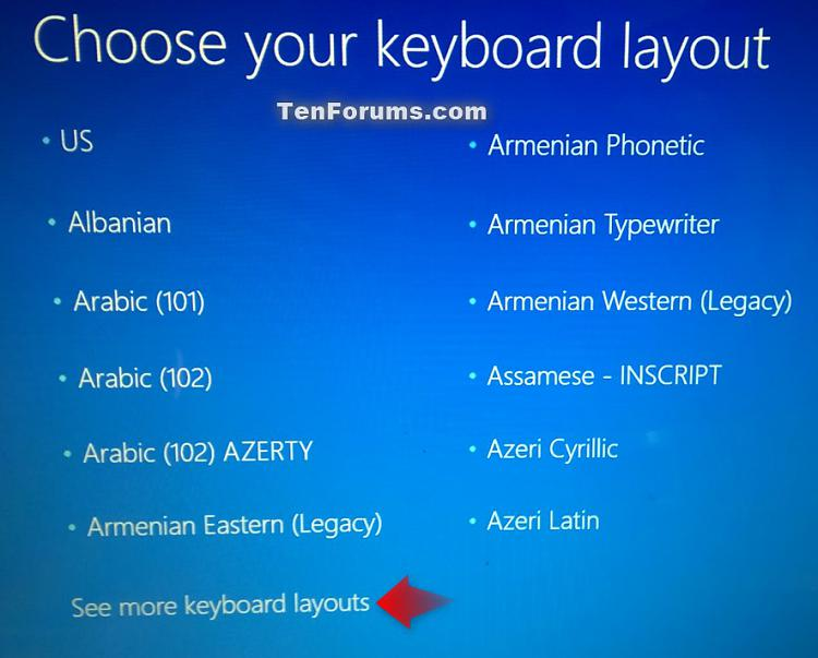 Create Recovery Drive in Windows 10-choose_your_keyboard_layout.jpg