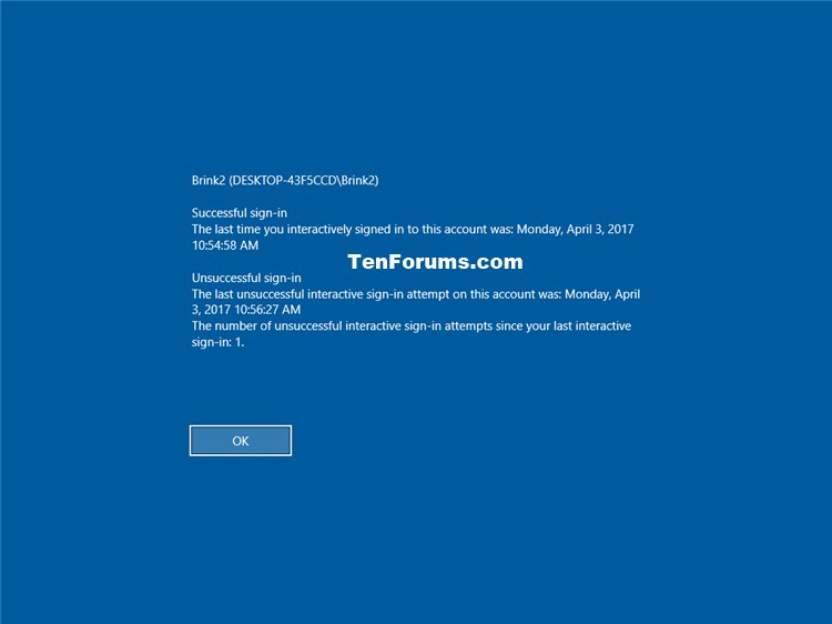 Display Last Sign-in Information during User Sign-in in Windows 10-info_about_previous_logons.jpg