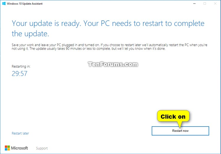 Update to Latest Version of Windows 10 using Update Assistant-windows_10_update_assistant-9.jpg