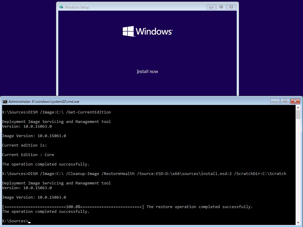 install windows 10 from scratch