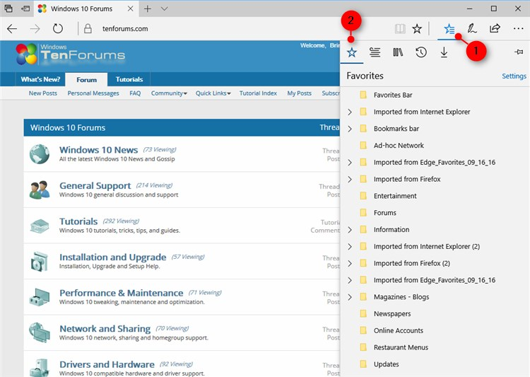 Import Favorites from Internet Explorer to Microsoft Edge-microsoft_edge_favorites.jpg