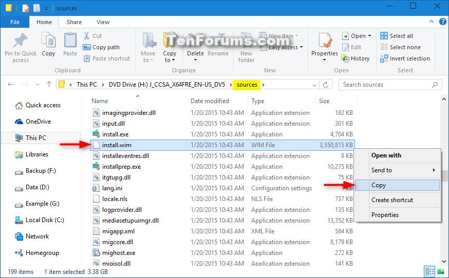 how to create image of windows 10