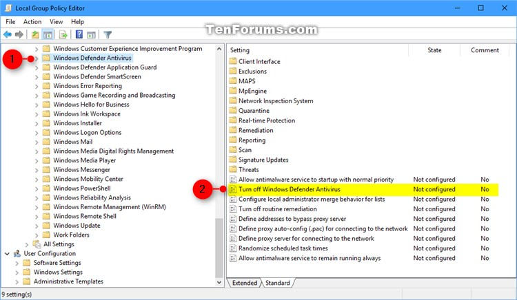 How to Turn On or Off Microsoft Defender Antivirus in Windows 10-windows_defender_gpedit-1.jpg