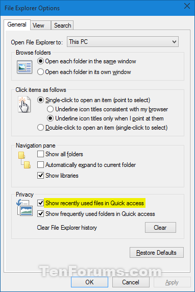 Add or Remove Recent Files from Quick Access in Windows 10-file_explorer_options.png