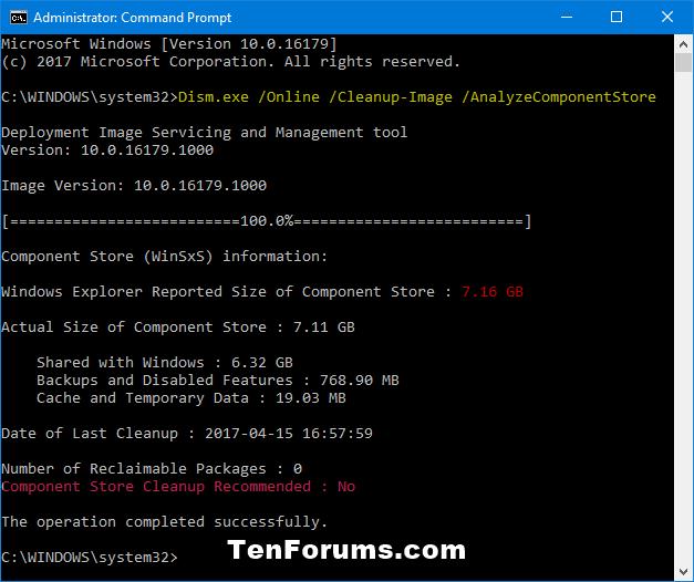 Analyze Component Store (WinSxS folder) in Windows 10-analyzecomponentstore.png