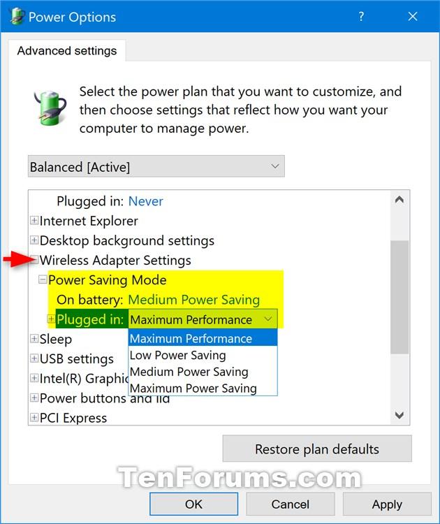 Change Power Saving Mode of Wireless Adapters in Windows 10-wireless_adapter_power_saving_mode.jpg