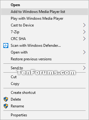Remove Add to Windows Media Player list Context Menu in Windows 10-add_to_windows_media_player_list.png