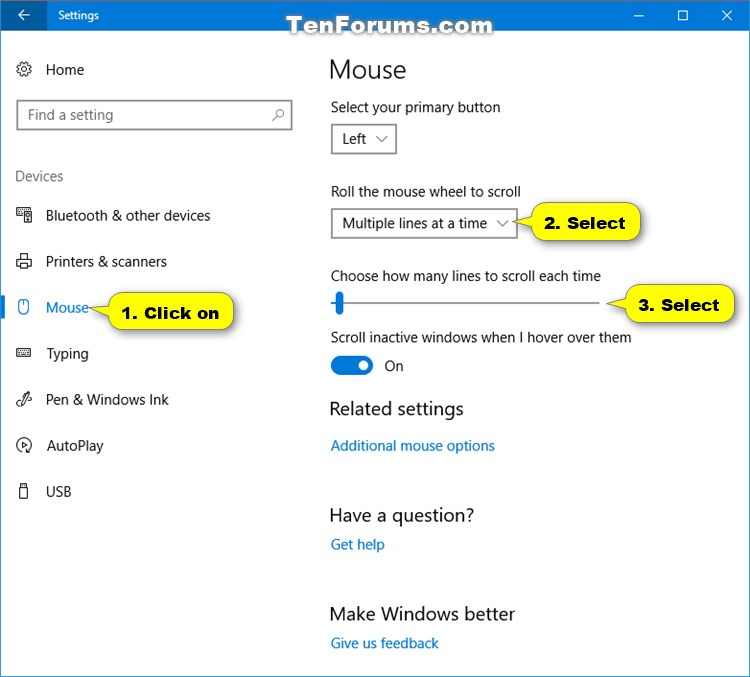 Change Mouse Scroll Speed in Windows 10 | Tutorials
