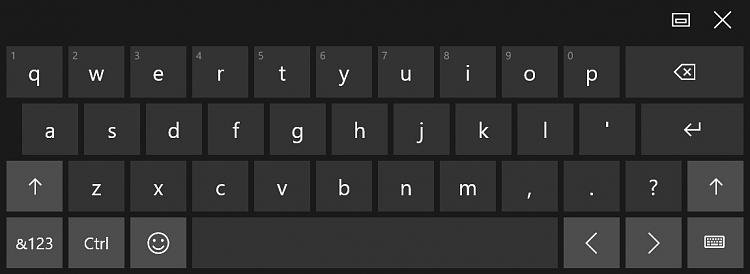 Turn On or Off Automatically Show Touch Keyboard in Windows