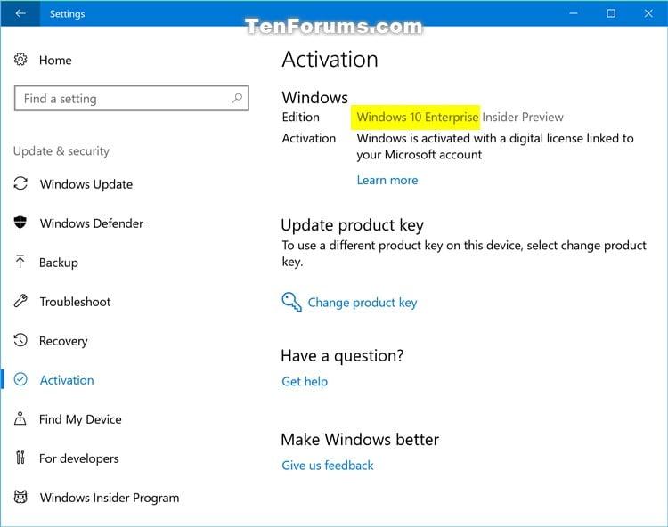 Upgrade Windows 10 Pro to Windows 10 Enterprise | Tutorials