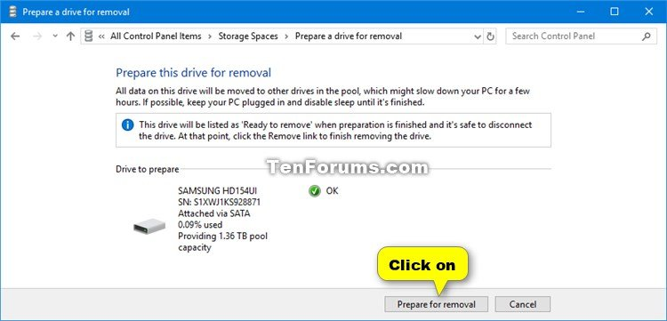 Remove Drive from Storage Pool for Storage Spaces in Windows 10-storage_spaces_remove_drive_from_storage_pool-2.jpg