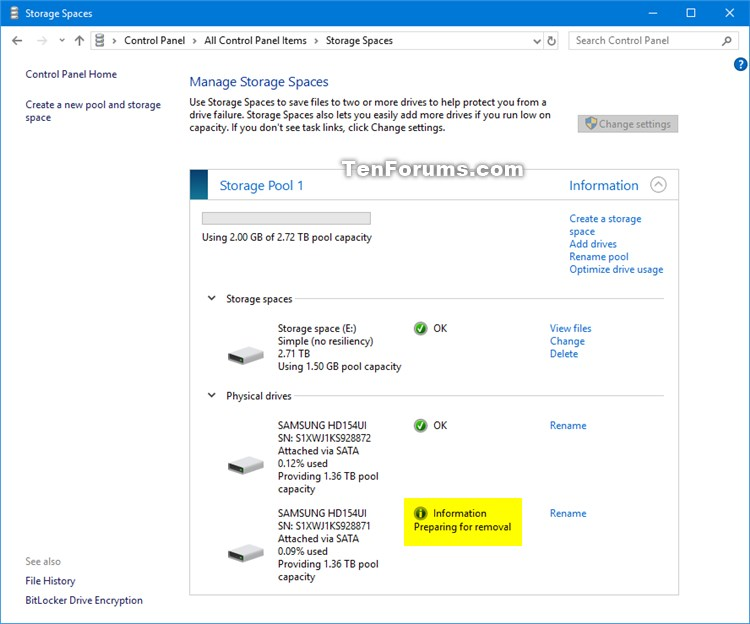 Remove Drive from Storage Pool for Storage Spaces in Windows 10-storage_spaces_remove_drive_from_storage_pool-3.jpg