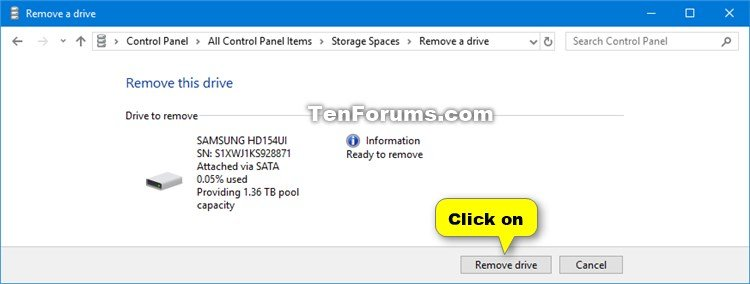 Remove Drive from Storage Pool for Storage Spaces in Windows 10-storage_spaces_remove_drive_from_storage_pool-5.jpg