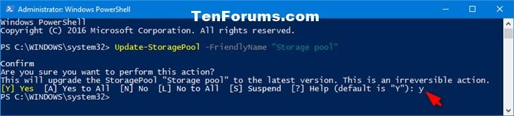 Upgrade Storage Pool for Storage Spaces in Windows 10-upgrade_storage_pool_powershell-2.jpg