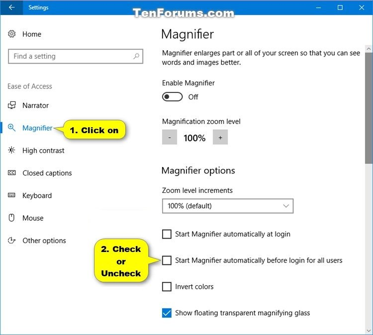 Turn On or Off Auto Start Magnifier before Login in Windows 10-start_magnifier_before_login.jpg
