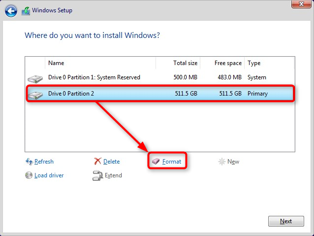 Apply Windows Image using DISM Instead of Clean Install-format-c-mbr.png