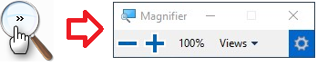 Turn On or Off Magnifying Glass for Magnifier in Windows 10   Tutorials