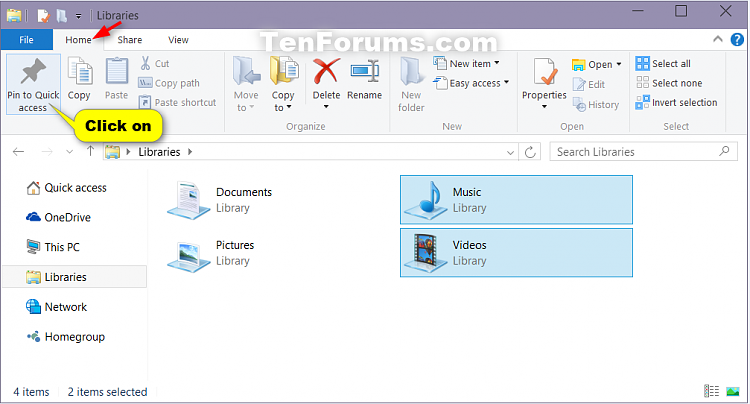 How to Pin or Unpin Folder Locations for Quick access in Windows 10-pin_to_quick_access_in_ribbon.png