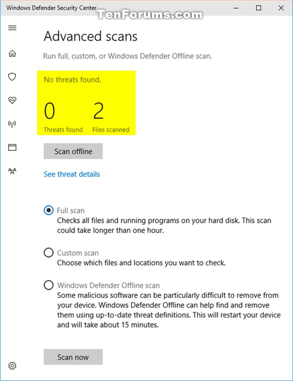 How to Scan with Windows Defender Antivirus in Windows 10-scan_with_windows_defender-2.jpg