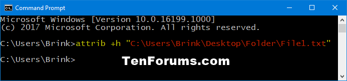 Set or Unset Hidden Attribute of Files and Folders in Windows 10-hide_file_command.png