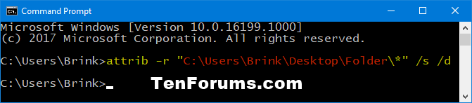 Name:  Unset_Read-only_subfolders_and_files_command.png Views: 1964 Size:  10.3 KB