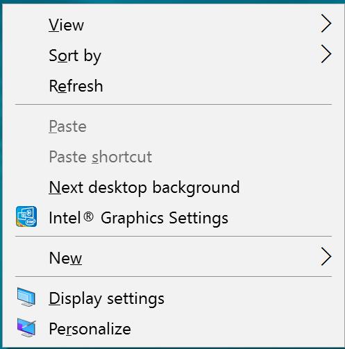 Remove Intel HD Graphics desktop context menu in Windows-image.png