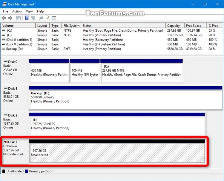 Erase Disk using Diskpart Clean Command in Windows 10