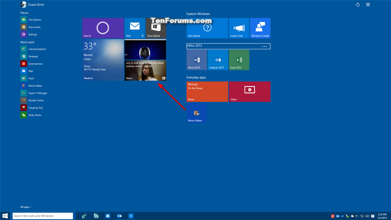 group app tiles on start in windows 10 windows 10 tutorials