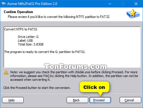 convert exfat to ntfs no data loss