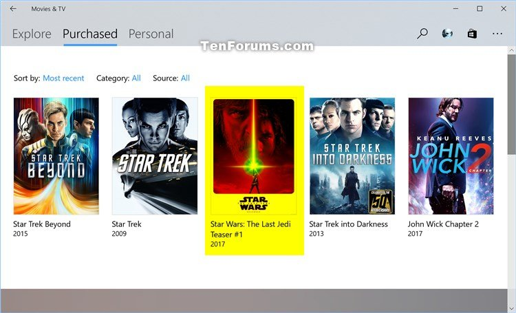 Restore Available Video Purchases in Movies & TV app in Windows 10-movies-tv_restore_my_available_video_purchases-4.jpg