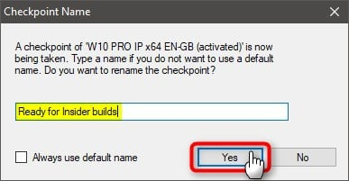Use Hyper-V virtual machine to get Windows 10 Insider ISO-checkpoint-name.jpg