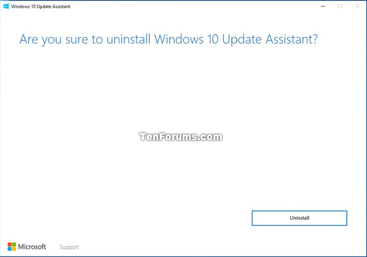 microsoft update assistant