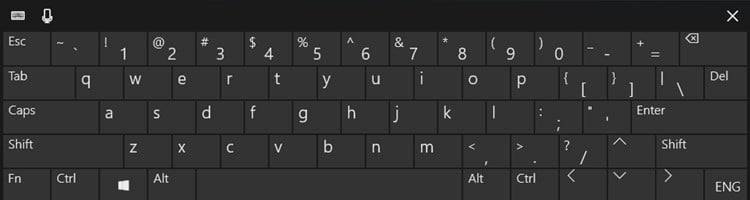 change layout of touch keyboard in windows 10 tutorials. Black Bedroom Furniture Sets. Home Design Ideas