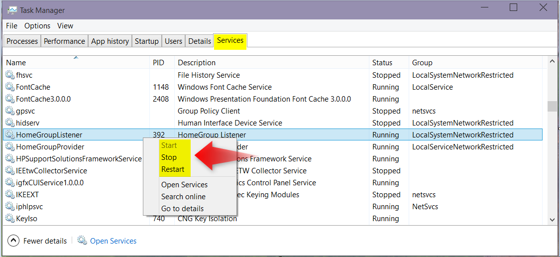 Start, Stop, and Disable Services in Windows 10 | Tutorials