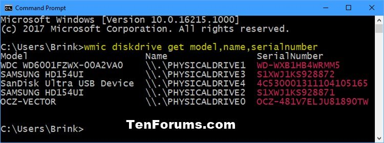 Find Serial Number of Hard Drive in Windows | Tutorials