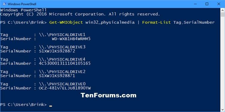 Find Serial Number of Hard Drive in Windows-drives_serial_number_powershell.jpg