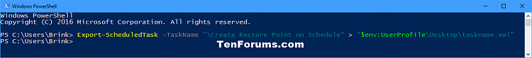 Click image for larger version.  Name:Export_task_PowerShell.png Views:48 Size:14.6 KB ID:140233