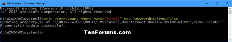 Enable or Disable Password Expiration for Local Accounts in Windows 10-disable_password_expiration_command.jpg
