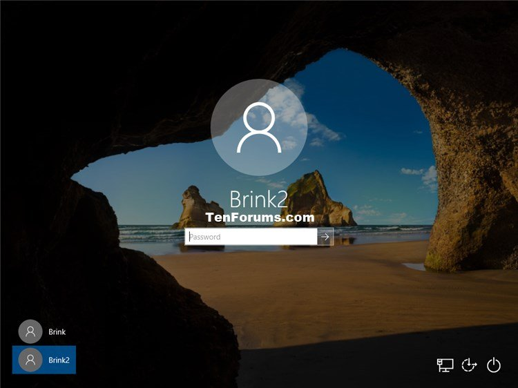 Force Local Account to Change Password at Next Sign-in in Windows 10