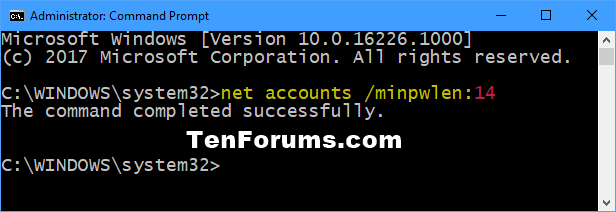 Name:  Minimum_password_length-command.png Views: 2259 Size:  13.7 KB
